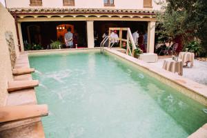 La piscina de Cal Jafra