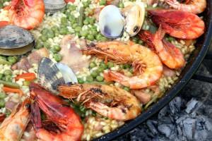Paella mixta grup Cal Jafra