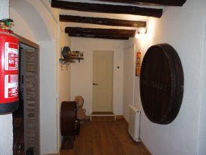 Interior Cal Sagal - Cal Jafra