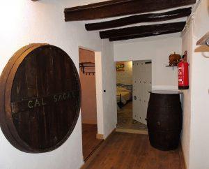 Interior masia Cal Sagal - Cal Jafra